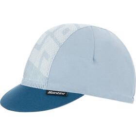 Santini Color Cycling Cap, silver gray